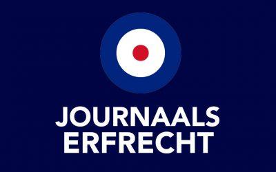 Journaals Erfrecht en Huwelijksvermogens-recht